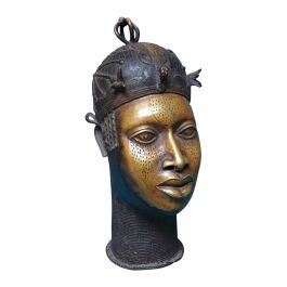 20th Century Life Sized Benin Bust No.2