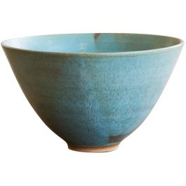 A Circular Stoneware Bowl By Mary White (1926 - 2013)