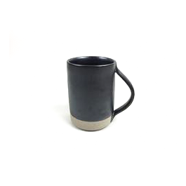 French Stoneware Basic Mug - Anthracite