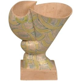 Abstract Ceramic Vessel