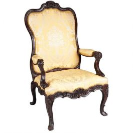 18th Century Large-Scale Continental Armchair