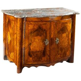Louis XIV Marquetry Buffet Cabinet
