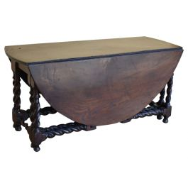Large Early 19th Century Double Gateleg Table