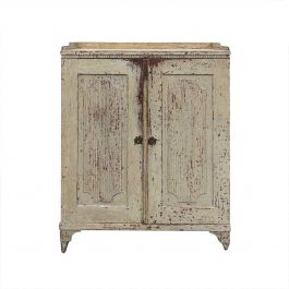 18th Century Gustavian Buffet with Original Paint