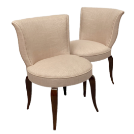 Art Deco boudoir chairs