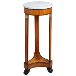 A Viennese Satinwood Pedestal table