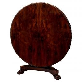 Fine George IV Rosewood Breakfast Table