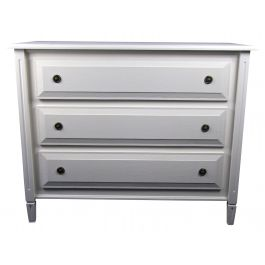Swedish Gustavian 3 Drawer Chest of Drawers