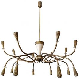 Italian Mid-Century Chandelier Attributed to Arredoluce