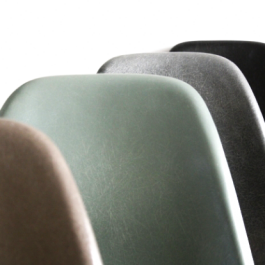 Eames Herman Miller Dsr Side Chairs On Eiffel Base In Greige / Elephant Grey / Seafoam Green / Black
