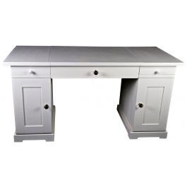 Swedish Gustavian Architects Pedestal Desk