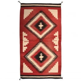 Antique Navajo American Indian Rug