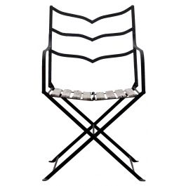 Chic Folding French Garden Chair