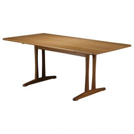 1960s Borge Mogensen Refinished Dining Table in Oak by FDB Mobler