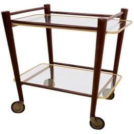 1960s Dutch Serving Trolley by Cees Braakman for Pastoe