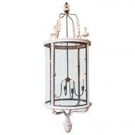 Pair of Oversized Louis XVI Lanterns
