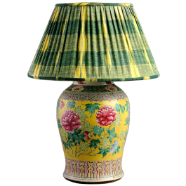 A Chinese vase as a lamp