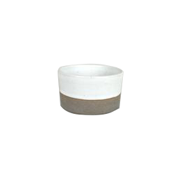 French Stoneware Basic Sugar Bowl - Ivory
