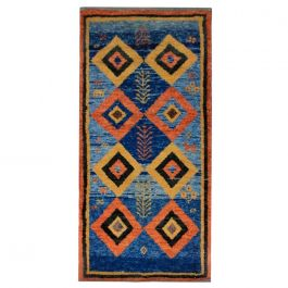 Vibrant Turkish Kazak Carpet
