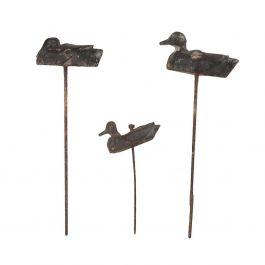 Collection of Wooden Decoy Ducks