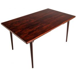 Rosewood Dining Table by Omann Junior, Danish 1960's