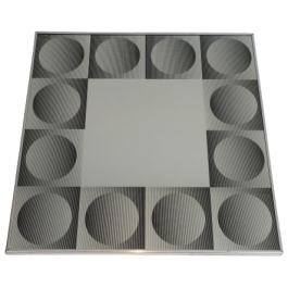 IN THE STYL OF VICTOR VASARELY. OPTIQUE ART MIRROR