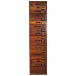 VINTAGE NUMBERED CHEST OF DRAWERS