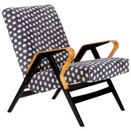 Blue Midcentury Armchair from Tatra, 1960s