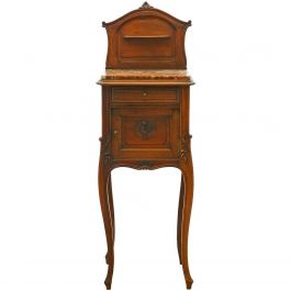 French Side Cabinet Rococo Louis Revival, 19th Century