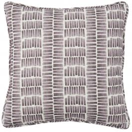 Ocean Plum Grey Cushion