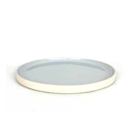 French Stoneware - Basic Dinner Plate - Smoke