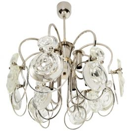 Italian Chandelier attributed Sciolari