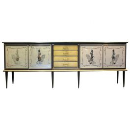 1950s Credenza by Umberto Mascagni for Mascagni