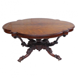 Victorian Figured Rosewood Centre Table
