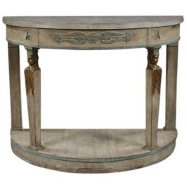 A mid 20th century Empire style console table