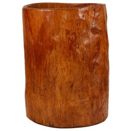 Large 19th Century Wood Storage Vessel