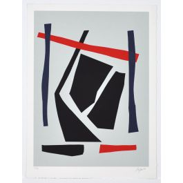 Screen Print by Robert Jacobsen, Untitled, 1980s Numbered and signed