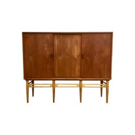 1950s Danish Model 90 Teak Cabinet By Illum Wikkelso