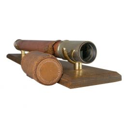 Antique Telescope, H Hughes and Son, London, Officer of the Watch