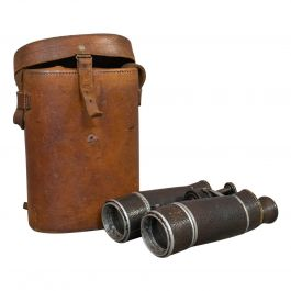 Vintage Pair of Binoculars, German, 12x Magnification, Busch Prisma Terlux