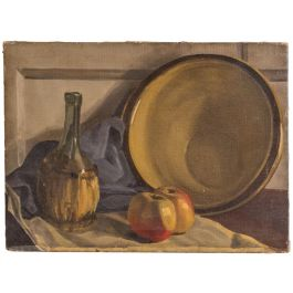 A Still Life Oil On Canvas By Mary Hailwood Ra (1908 -1983)