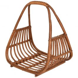 Mid-Century Modern Italian Magazine Rack Holder Basket after Franco Albini
