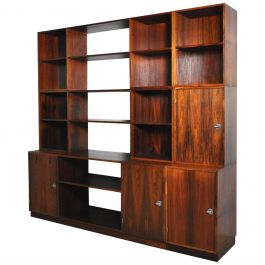Finn Juhl Modular Rosewood Wall Unit for France & Søn, 1966