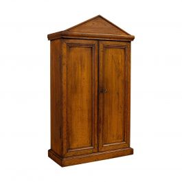 Antique Tool Cupboard, Oak, Wall Hanging, Cabinet, Army and Navy, Edwardian