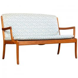1960s Restored Danish Ole Wanscher Sofa by Cado, Include Choice of Upholstery