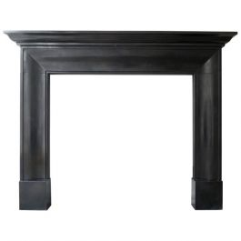 Contemporary Georgian Style Marble Mantel