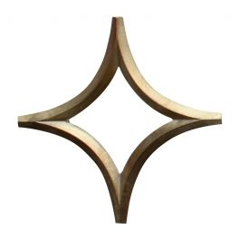 Star Brass Trivet by Oji Masanori