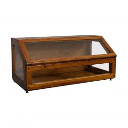 Antique Display Case, Haberdashery, Retail Counter Top Cabinet, Edwardian, 1910