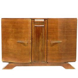Art Deco Credenza Sideboard Buffet French, circa 1930