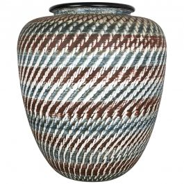 Large Ceramic Pottery Floor Vase by Dümmler and Breiden, Germany, 1950s